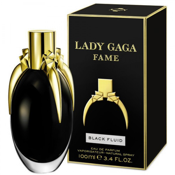 Lady Gaga Fame Black Fluid